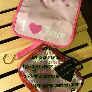 Juicy Couture make up and Beauty  bag set🛍